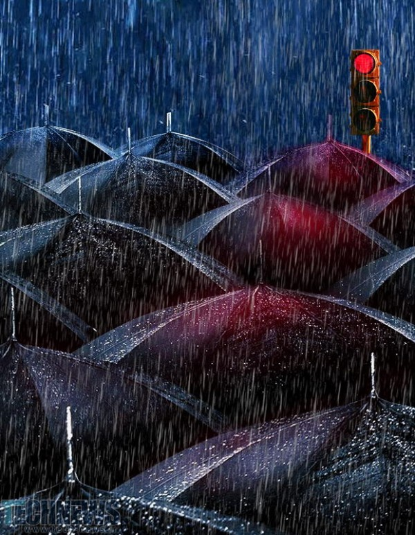 Black Umbrellas by Emin Zeynalov on 500px.com