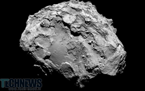 Astronomers find pure oxygen leaking from Rosetta's comet 2