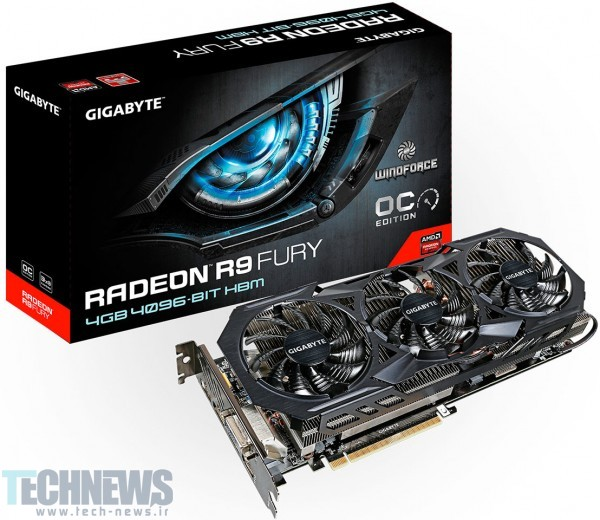 GIGABYTE Rolls Out the Radeon R9 Fury WindForce Graphics Card