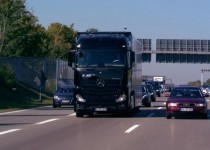 Self-driving truck hits the highway in world first