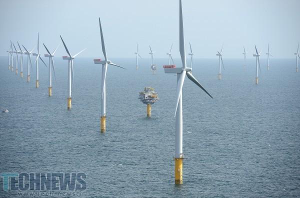 Photo of بزرگترین مزرعه بادی دریایی جهان در انگلستان ساخته میشود