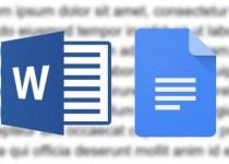 مقایسه: مایکروسافت Word در مقابل گوگل Docs
