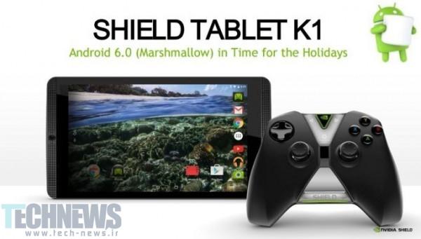 انویدیا روی بهروزرسانی اندروید 6 برای تبلتهای Shield و Shield K1 کار میکند