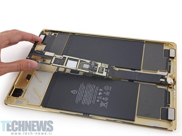 کالبدشکافی آیپد پرو ما را از درون بزرگترین تبلت اپل باخبر میکند
