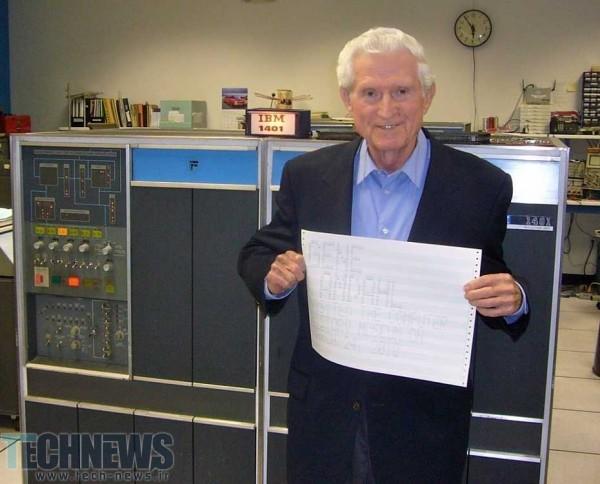 Photo of جن آمداهل، معمار کامپیوتر و کارآفرین حوزه فناوریهای پیشرفته در سن 92 سالگی فوت کرد