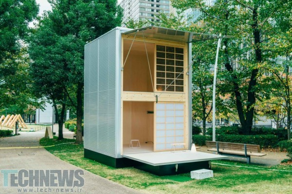 THE MUJI HUT IS A MICRO-HOME MADE FOR JAPAN 3