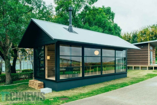 THE MUJI HUT IS A MICRO-HOME MADE FOR JAPAN