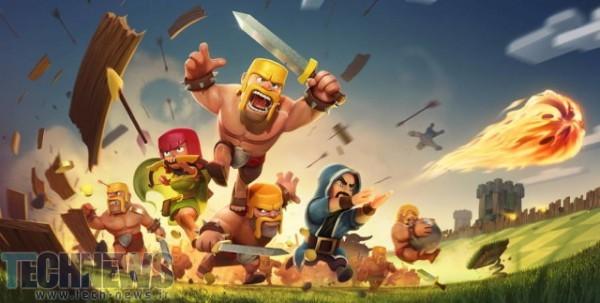 درآمد 871 میلیونی بازی ِClash Of Clans برای تولیدکنندگان این بازی