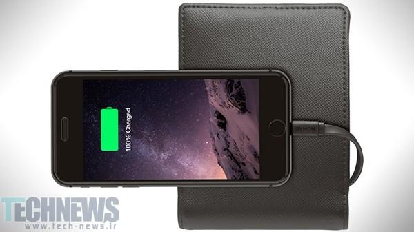Photo of این کیف پول چرمی میتواند گوشی شما را شارژ کند
