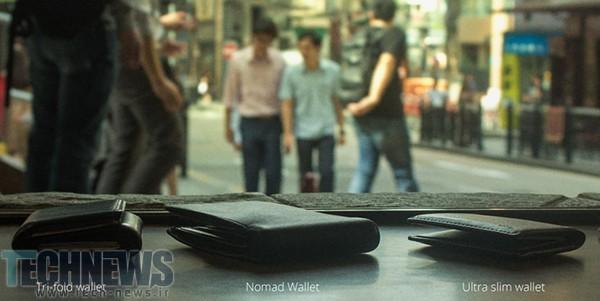 این کیف پول چرمی میتواند گوشی شما را شارژ کند