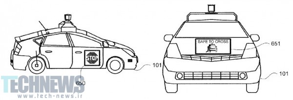 'I'M DRIVING HERE!' HERE'S HOW GOOGLE'S SELF-DRIVING CAR COULD TALK TO PEDESTRIANS 2
