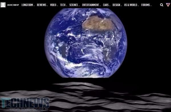 Photo of انتشار تصویری باورنکردی از زمین در حال طلوع توسط  ناسا