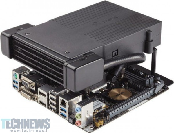Corsair Introduces Low Profile Liquid CPU Cooler
