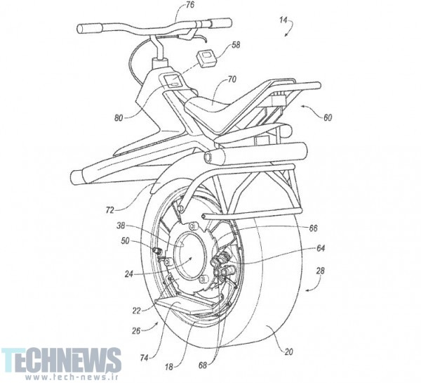 Ford patents electric unicycle that uses your car's tire 2