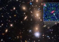 Hubble Telescope Spots A Galaxy Far, Far Away