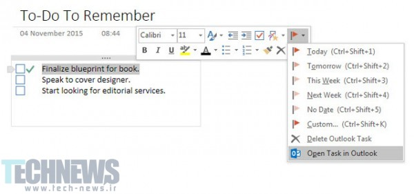 OneNote-Outlook