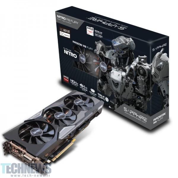Sapphire Intros Radeon R9 Fury NITRO Graphics Card
