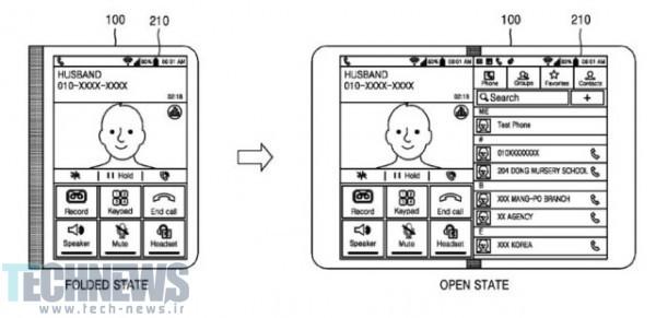 Photo of پتنت جدید سامسونگ یک گوشیهوشمند را که به تبلت تبدیل میشود، نشان میدهد