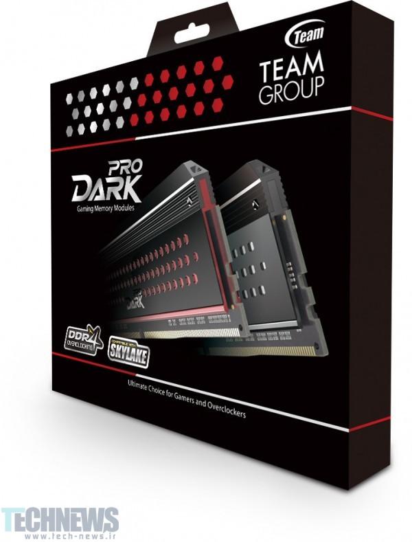 Photo of حافظههای رم حرفهای Dark Pro DDR4، محصولات جدید Team Group