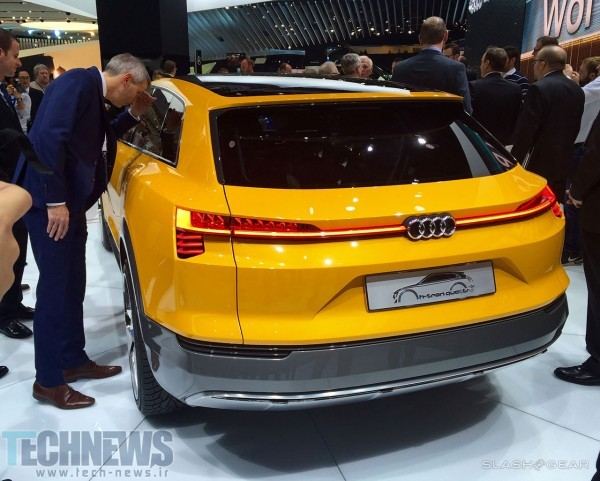 Audi H-Tron Quattro concept up close and personal 2