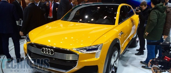 Audi H-Tron Quattro concept up close and personal