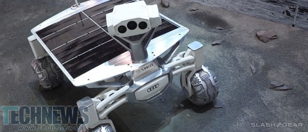 Audi Lunar Quattro moon rover first look - XPRIZE-bound