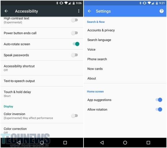 How to change Android auto-rotate settings 2