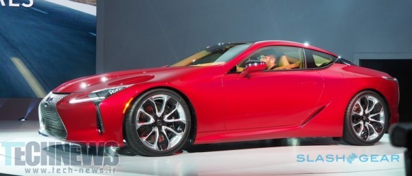 Lexus LC 500 does the impossible - concept made real