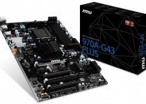 MSI Intros 970A-G43 Plus Socket AM3+ Motherboard
