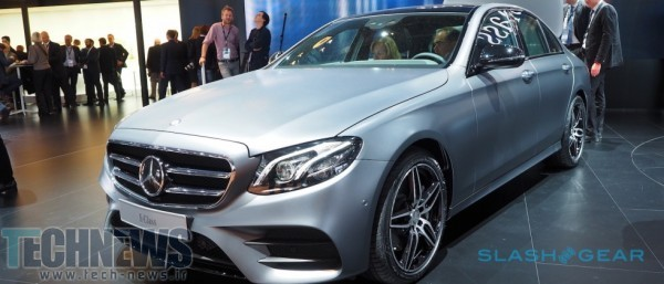 This is the 2017 Mercedes-Benz E-Class