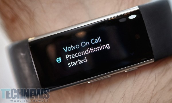 Volvo cars will take voice commands from the Microsoft Band 2 2