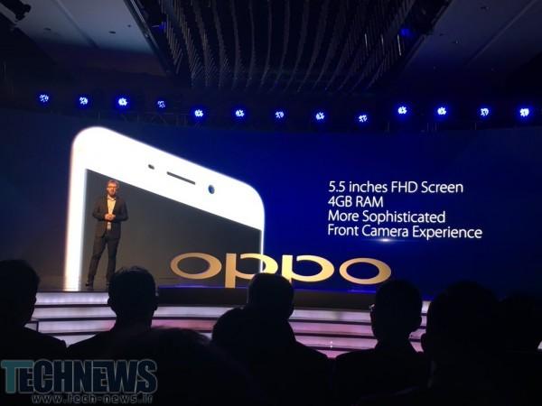 Oppo از گوشی F1 Plus خود رونمایی کرد؛ نمایشگر 5.5 اینچی، 4 گیگابایت رم