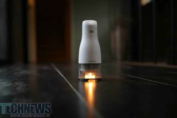 ببینید: این لامپ الایدی برای ایجاد روشنایی، تنها به یک شمع کوچک نیاز دارد