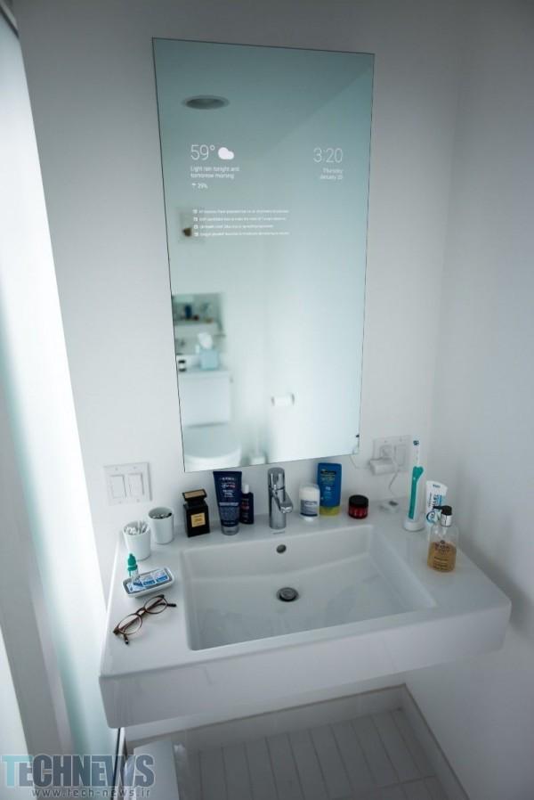 این آینه هوشمند اندرویدی را یکی از مهندسان گوگل در اوقات فراغت خود اختراع کرده است