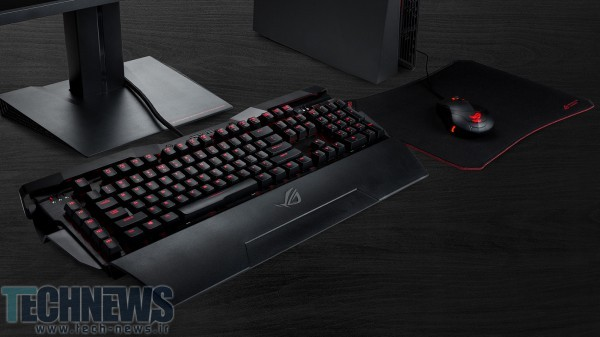ASUS Republic of Gamers Announces Horus GK2000 Gaming Keyboard 2