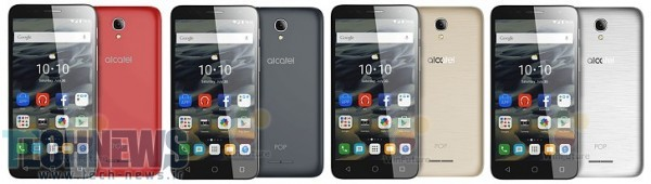 Alcatel pop 4 series-4