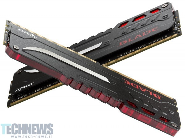 Apacer Announces the Blade Fire DDR4-3200 32GB Memory 2