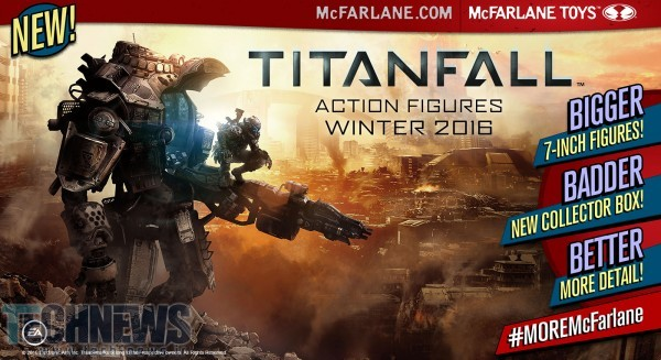 Titanfall 2 gets Winter 2016 release date, outed by Todd McFarlane