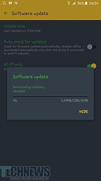 بهروز رسانی اندروید 6.0.1 برای گلکسی اس 6 اج پلاس سامسونگ منتشر شد