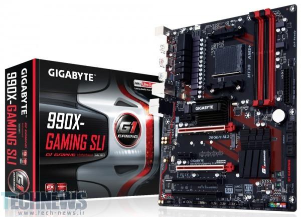 Photo of رونمایی گیگابایت از مادربورد گیمینگ قدرتمند 990X-Gaming SLI