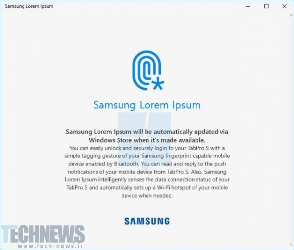 Samsung Could Integrate Galaxy Smartphone With Windows 10 Tablets