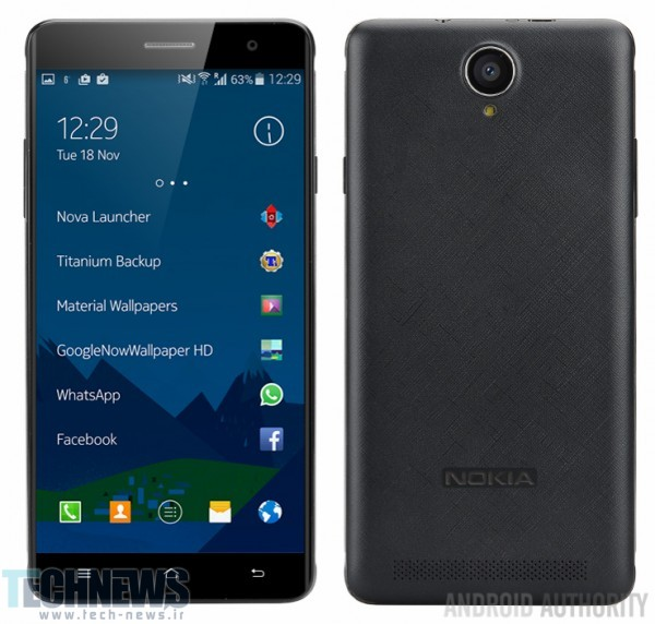 Nokia is back - leaked image showcases the Android-powered A1 smartphone in all its glory