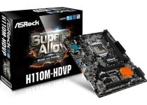 ASRock Intros the H110M-HDVP Motherboard