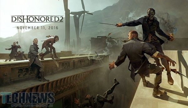 Dishonored 2 release date announced for November
