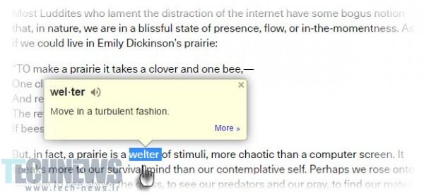 Google-Dictionary-Chrome-Extension