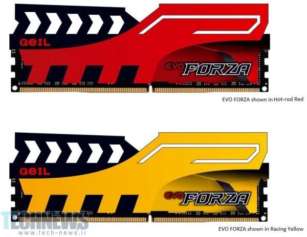 Photo of Geil از حافظههای رم DDR4 سری EVO Forza پرده برداشت