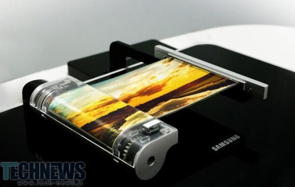 سامسونگ تصاویری از پنل OLED تاشوی خود منتشر کرد