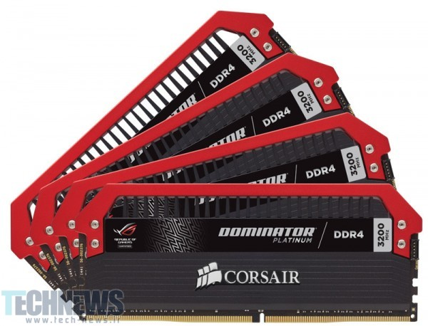 CORSAIR Announces Dominator Platinum ROG Edition Memory