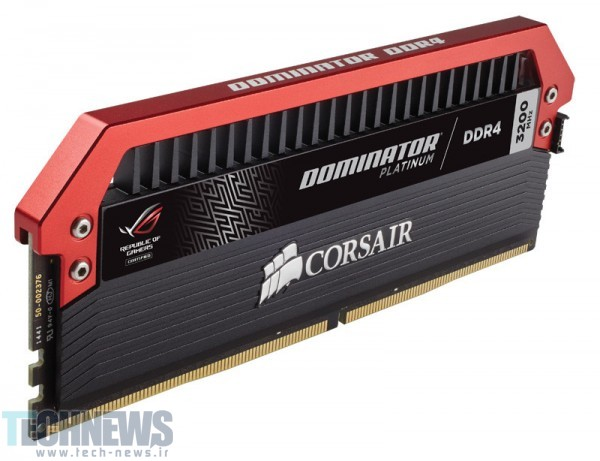 CORSAIR Announces Dominator Platinum ROG Edition Memory2