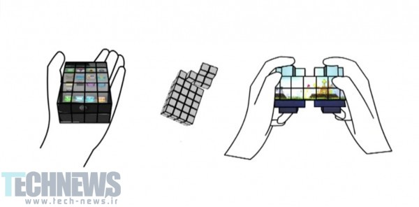 Photo of محققان صفحهنمایش لمسی شبیه به مکعب روبیک ساختهاند